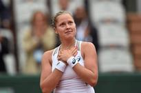 Tearful Cinderella Shelby eyes French Open sem... US player Shelby Rogers celebrates after beating Romania's Irina Begu at...