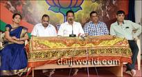 Water scarcity due to favours done to sand mafia: Krishna Palemar