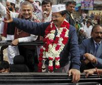 Kejriwal files nomination; Says Modi, Rahul using black money in election campaign