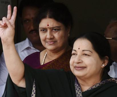 Jayalalithaa's assets worth Rs 113.73 crore, Rs 3.4 crore less than last year