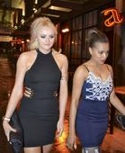 Coronation Street's Katie McGlynn and Tisha Merry are a far cry from Weatherfield on glamorous night out
