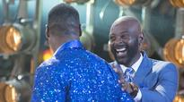 Watch: Calvin Johnson and Jerry Rice met for the first time on Dancing with the Stars