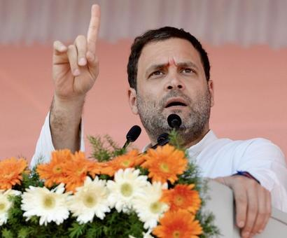 Rahul takes dig at PM amid reports of China's new route to Doklam