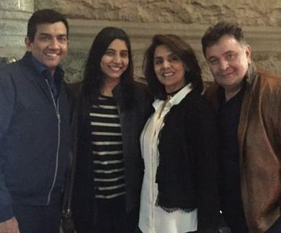 Look, who's dining with Rishi Kapoor!