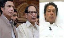Shujaat, Pervaiz inquire after health of Imran