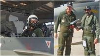 French Air chief of staff Lanata gets Tejas experience in Jodhpur