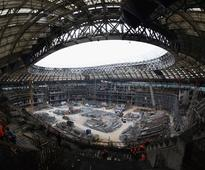 Work at Luzhniki stadium in Moscow in line with World Cup schedule: FIFA