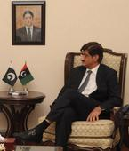Federal Minister for Religious Affairs calls on CM Sindh