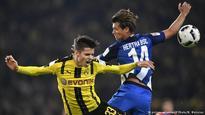 Dortmund grab home draw against dogged Hertha