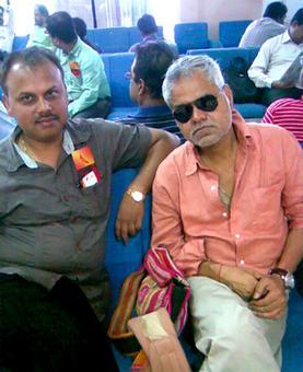 Spotted: Sanjay Mishra