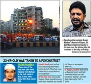 Mumbai ISISrecruit Areeb Majeed quizzed by NIA to be produced in court today