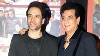 Father-son duo Jeetendra-Tusshar Kapoor on TV show