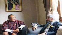 Indian Foreign Secretary meets Bhutanese PM Tshering Tobgay