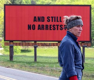 Review: Three Billboards Outside Ebbing, Missouri: Frances all the way!