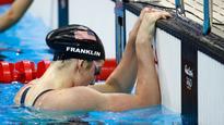 Rio 2016: World-record holder Franklin misses 200m backstroke final