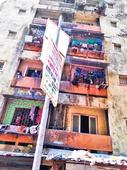 45,000 residents bear the brunt of BMC, SRA apathy!