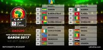 AFCON 2017: Ivory Coast  face former coach, Algeria, Senegal in group of death