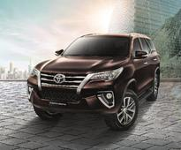 New Toyota Fortuner coming to India by Diwali: Report