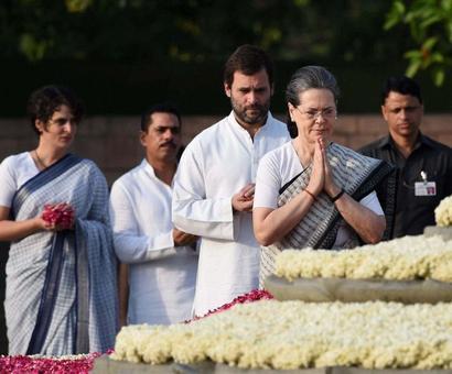 Nation remembers Rajiv Gandhi on 25th death anniversary