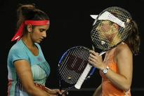 Mirza-Hingis crash out of French Open