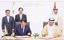 UAE and Korea  agree to boost  economic ties