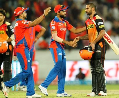 IPL PHOTOS: Sunrisers Hyderabad hand Gujarat Lions a third straight defeat