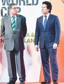 Booed Srini bailed out by presence of Sachin