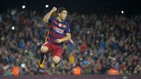 Luis Suarez relaxed about Barcelona contract extension