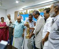 Mathrubhumi Literary Award presented to writer C Radhakrishnan