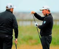 WATCH - Graeme McDowell hilariously pranks Shane Lowry on Royal Troon putting green