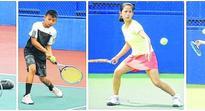 16th Governor's trophy tennis Charmi wins U 14 girl's title, Shankar bags U 10 boy's title