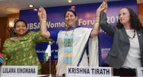Krishna Tirath signs IBSA resolution to empower women