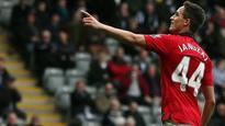 Winger Adnan Januzaj limps out of United reserve match