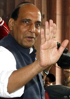 Rajnath likely to visit Pakistan for SAARC meet