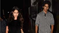 SPOTTED: Ishaan Khattar and Jhanvi Kapoor at the special screening of 'Badrinath Ki Dulhania'!