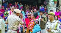 Khwairamband Keithel Women vendors break into scuffle over vending spots