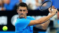 Guccione out for Tomic in cup tie