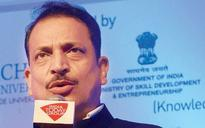 My ministry has to train a crore people in the next 2.5 years, says Skill Development Minister Rajiv Rudy