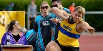 Athletics: Gill and girlfriend perfect match