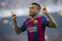 Dani Alves departs Barcelona