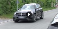 SPIED: 2017 Mercedes-AMG GLC63 prototype