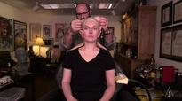 Makeup Artist Uses Amazing SFX Skills To Transform Woman Into A Creepy Old Man