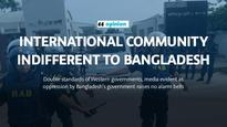 International community indifferent to Bangladesh