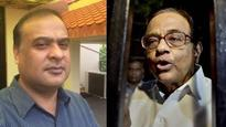 Himanta Biswa Sarma says cancer is 'divine justice', Chidamaram blames comment on party switch