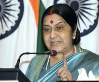 Sushma focuses on injured Indian Olympian's condition