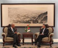 Vice Foreign Minister Liu Zhenmin Meets with WIPO Director General Francis Gurry