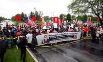 Hundreds protest over minimum wage at McDonald's stockholder meeting