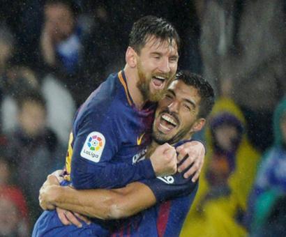 La Liga: Suarez inspires stunning Barcelona comeback at Real Sociedad