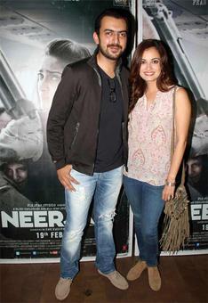 PIX: Dia Mirza, Huma Qureshi watch Neerja
