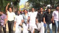 YC activists wave black flag, raise slogans at Tankha
